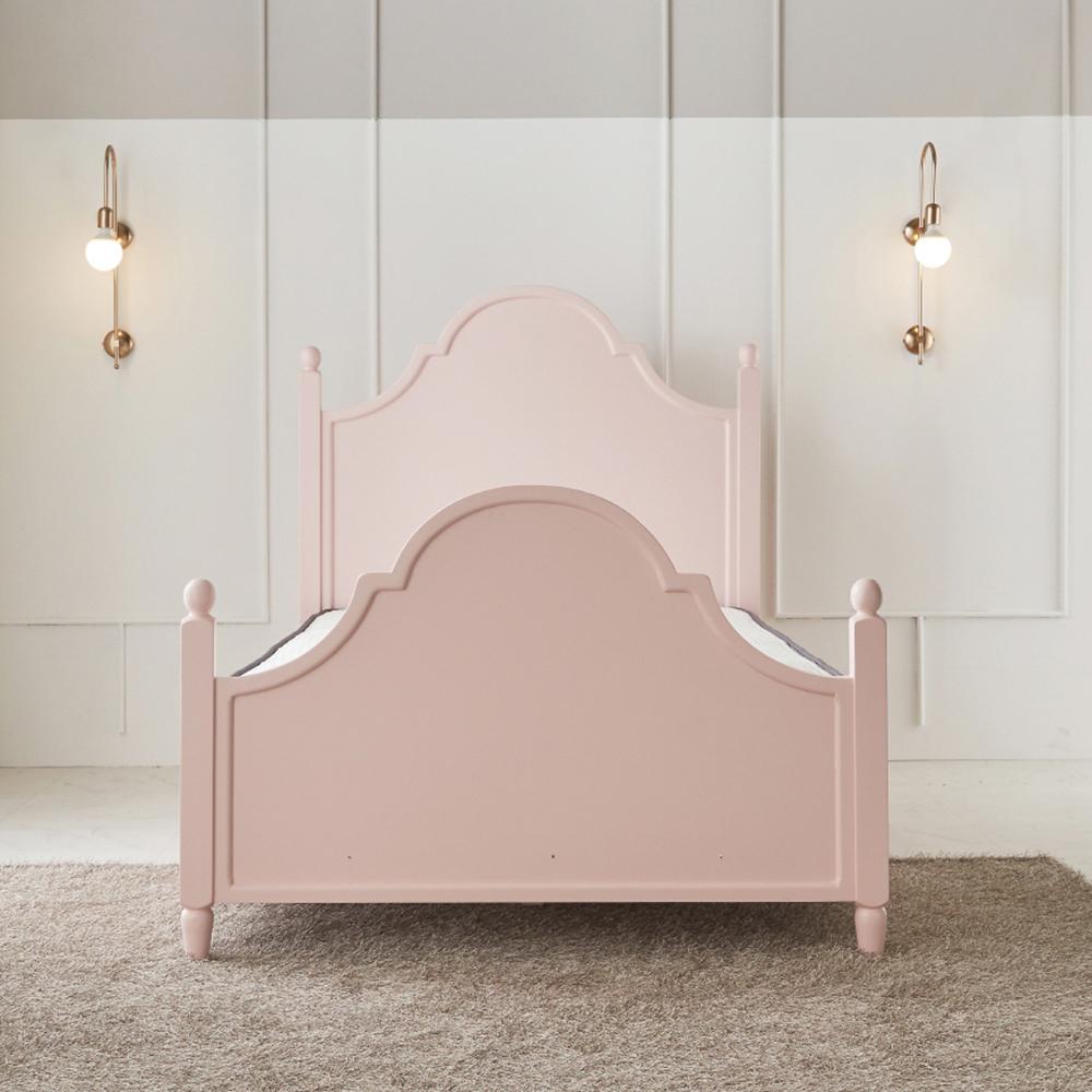 고릴라리퍼블릭 리빙지 프린세스 메이커 침대 방문설치, 핑크