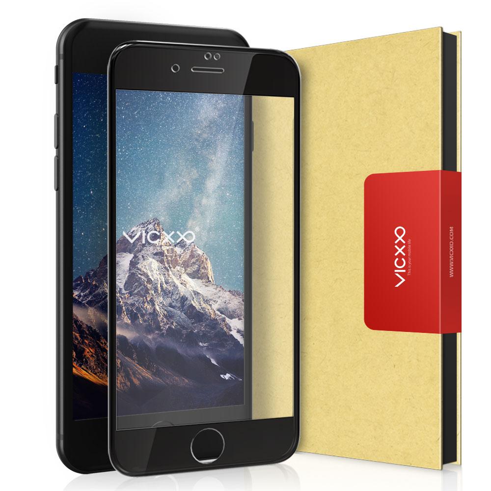 빅쏘 4D 풀커버 강화유리 휴대폰 액정보호필름 블랙, 1개