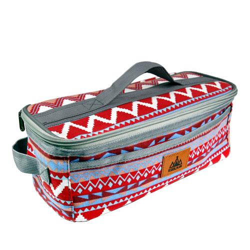 [캠핑용품] KOOLMAN 다용도 키친툴 수납가방, 레드계열, 1개 - 랭킹59위 (8500원)