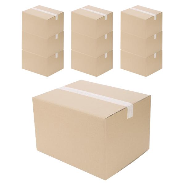 코멧 택배 이사용 종이박스 A골, 480 x 385 x 315mm, 10개