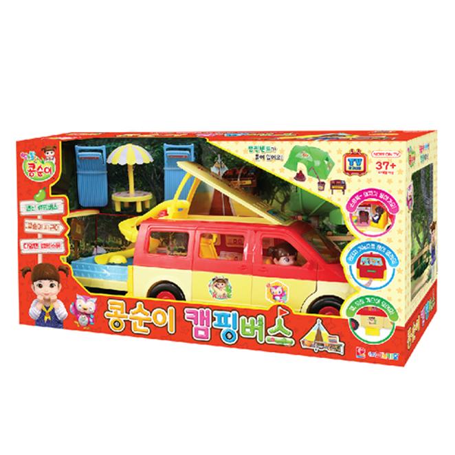 피노키오 콩순이 캠핑버스 장난감, 혼합색상