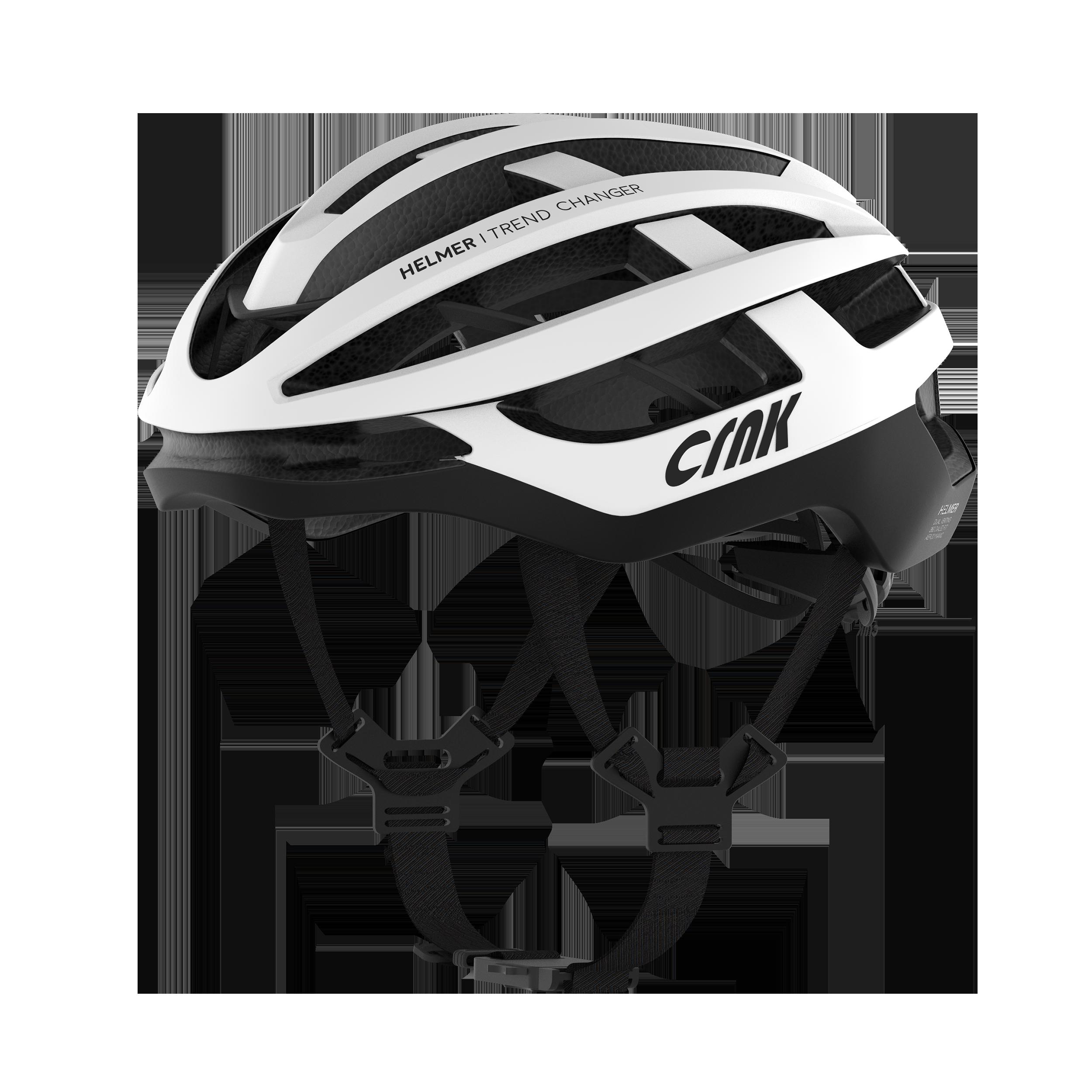 크랭크 HELMER 자전거 헬멧, White