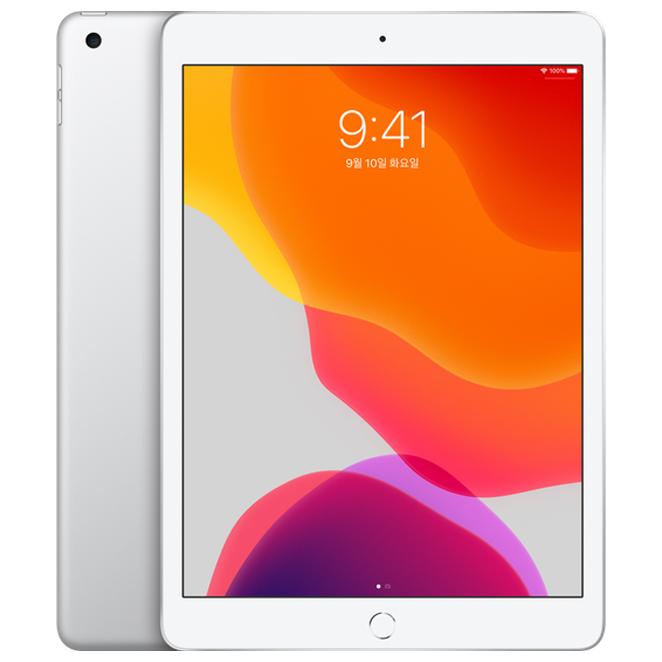 Apple 2019년 iPad 10.2 7세대, Wi-Fi, 128GB, Silver