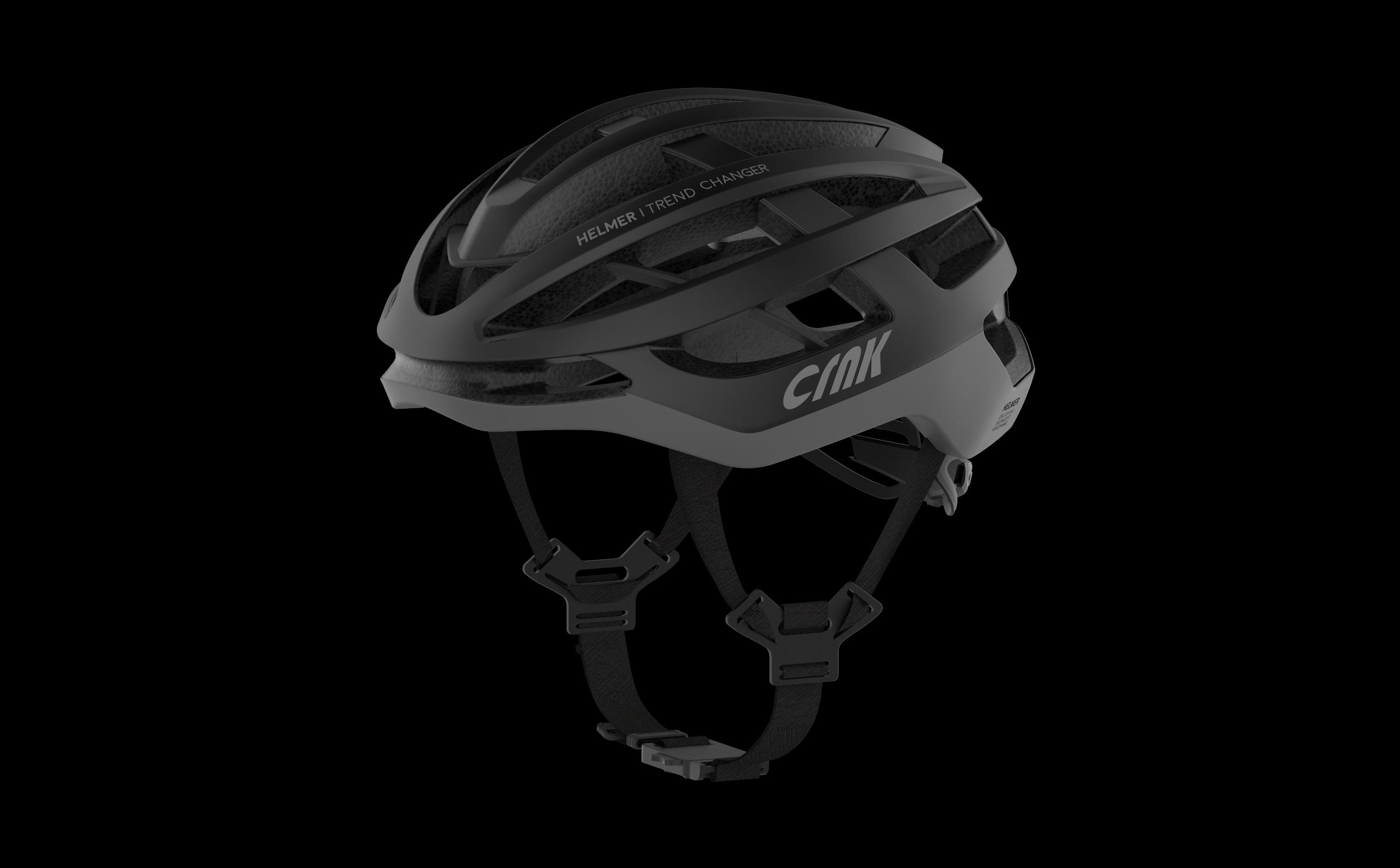 크랭크 HELMER 자전거 헬멧, Black