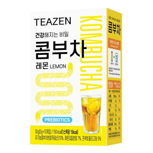 티젠 콤부차 스틱 레몬, 5g, 10개입