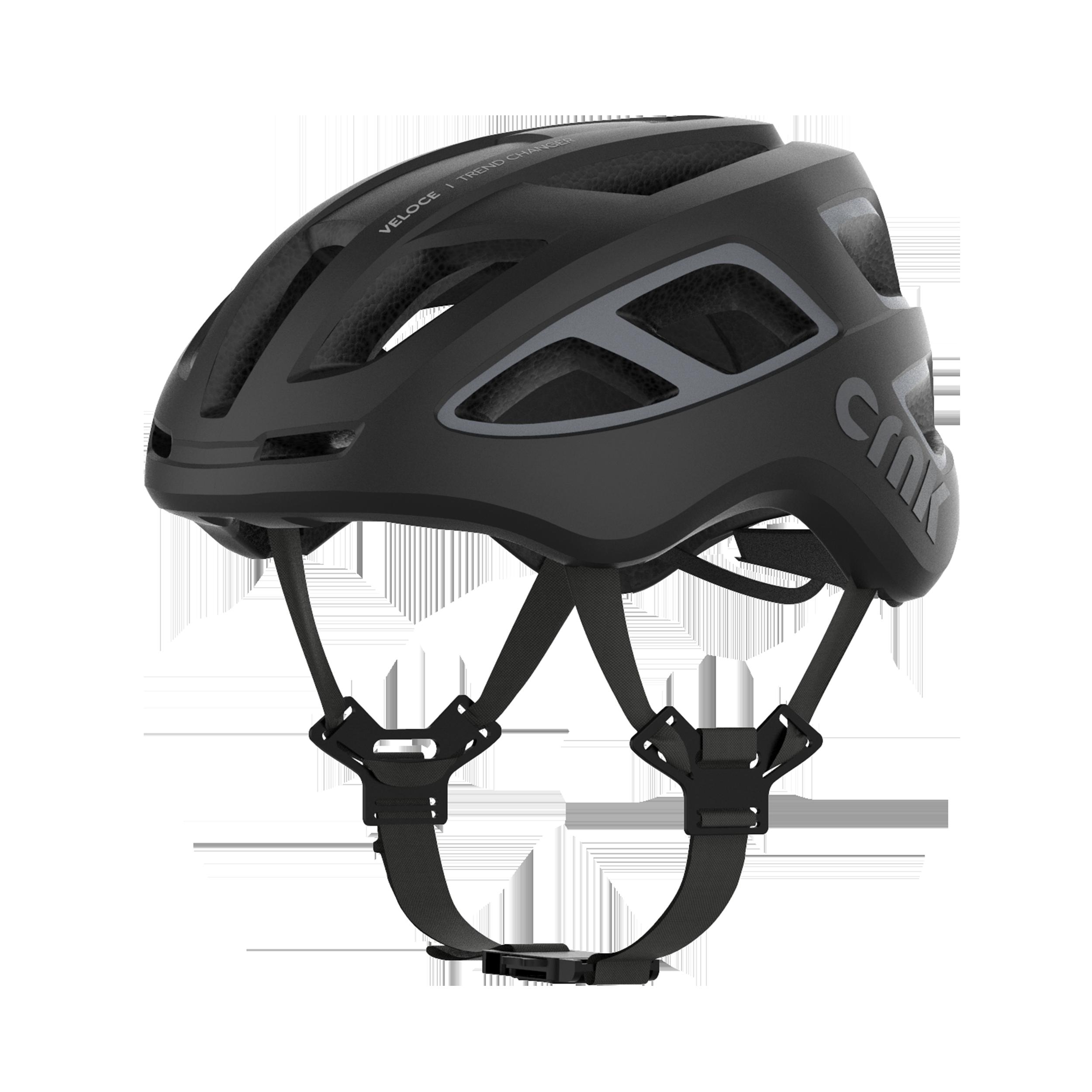 크랭크 VELOCE 자전거 헬멧, Black