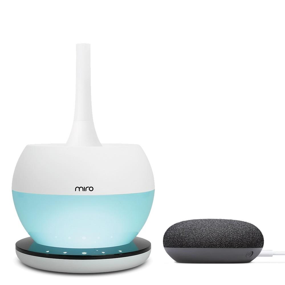 미로 loT 초음파 가습기 + 구글홈 미니, MIRO-NR08M