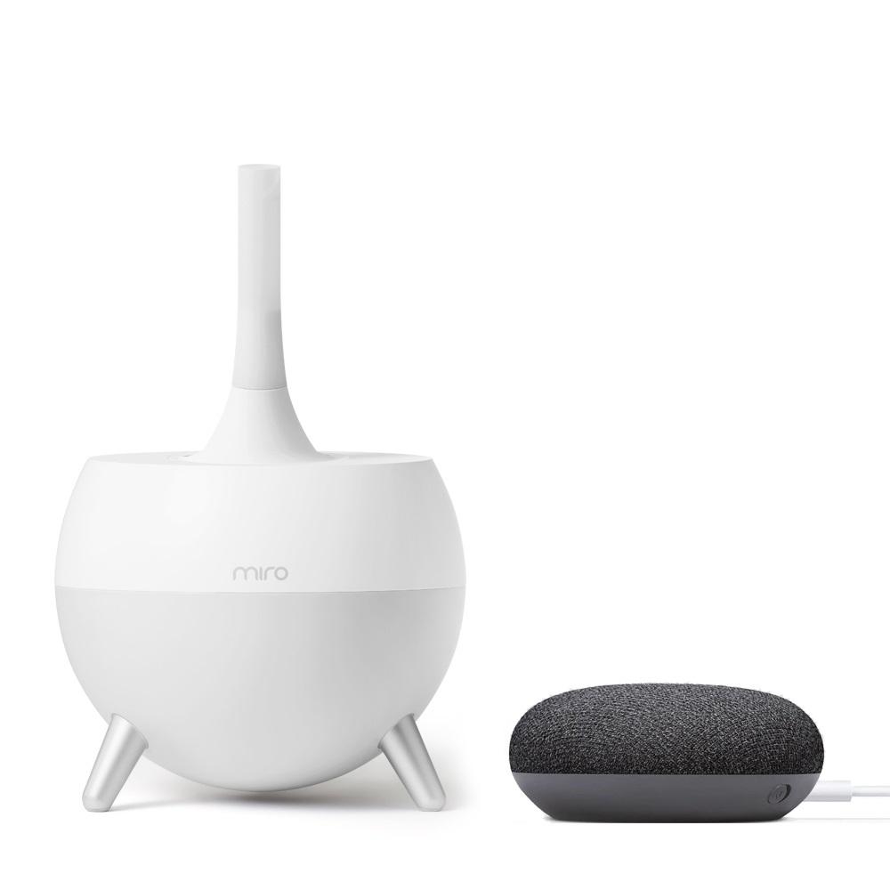 미로 loT 초음파 가습기 + 구글홈 미니, MIRO-NR07BR