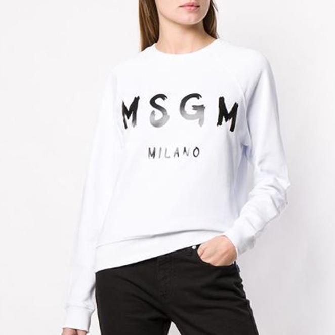 MSGM 여성용 Milano 스웨트 셔츠 2841MDM89