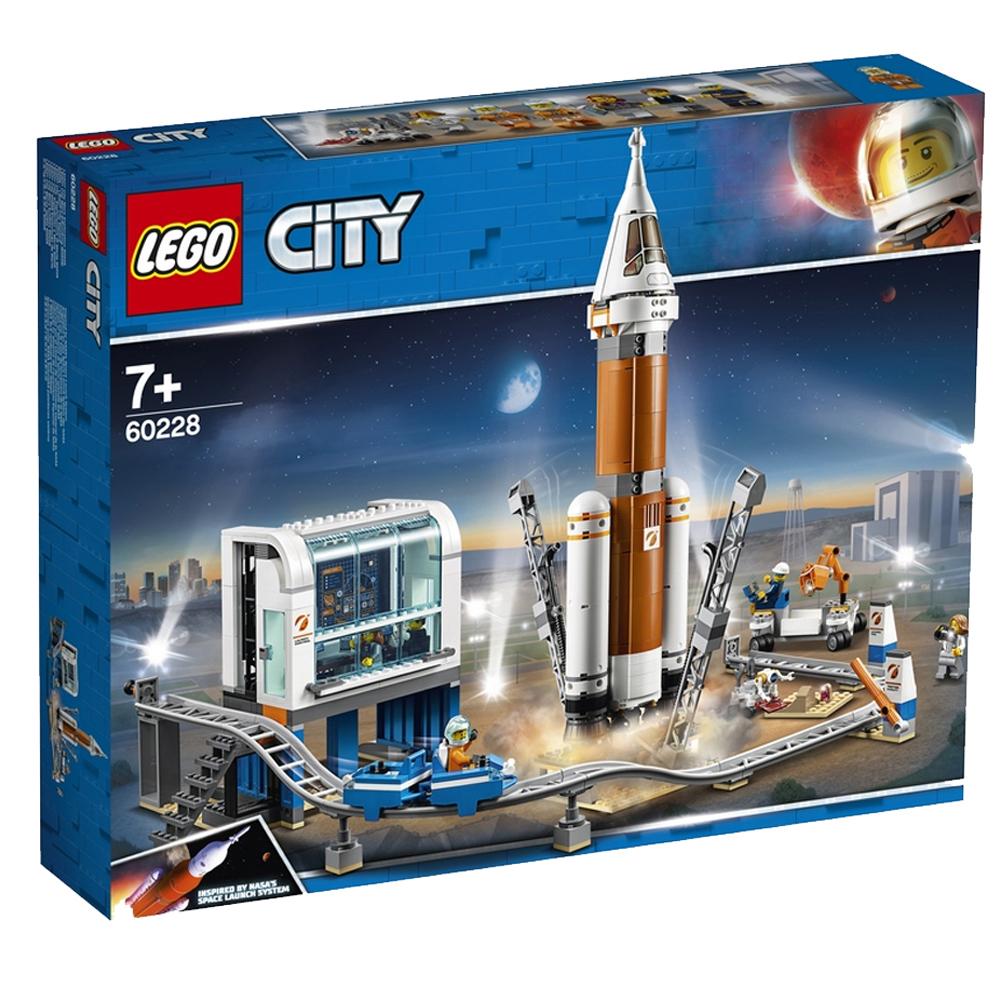 레고 시티 우주 로켓과 발사 관제소 60228, 혼합 색상