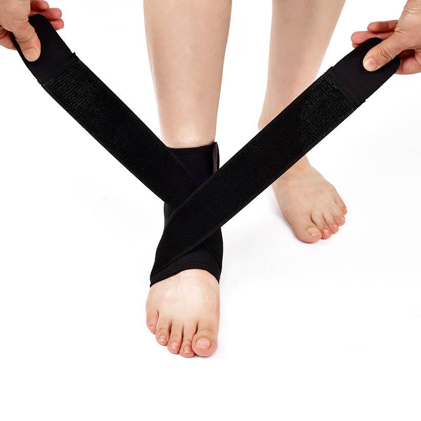 바디공식 여성용 3단 밴드 발목보호대 M, 1개