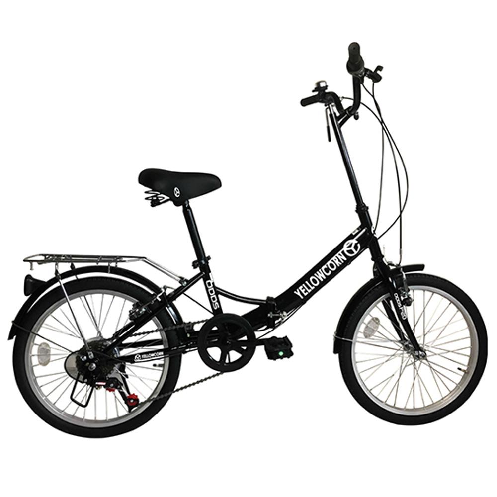 옐로우콘 오즈 성인자전거, 블랙, 140cm
