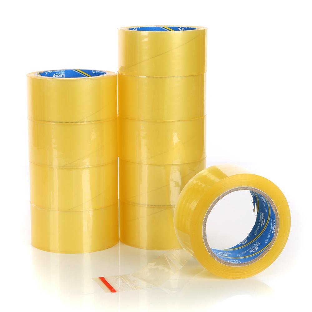 코멧 투명 박스테이프 80M 57mic  10개코멧 투명 박스테이프 50M x 6P + 커터기 세트 57mic  1세트MRO