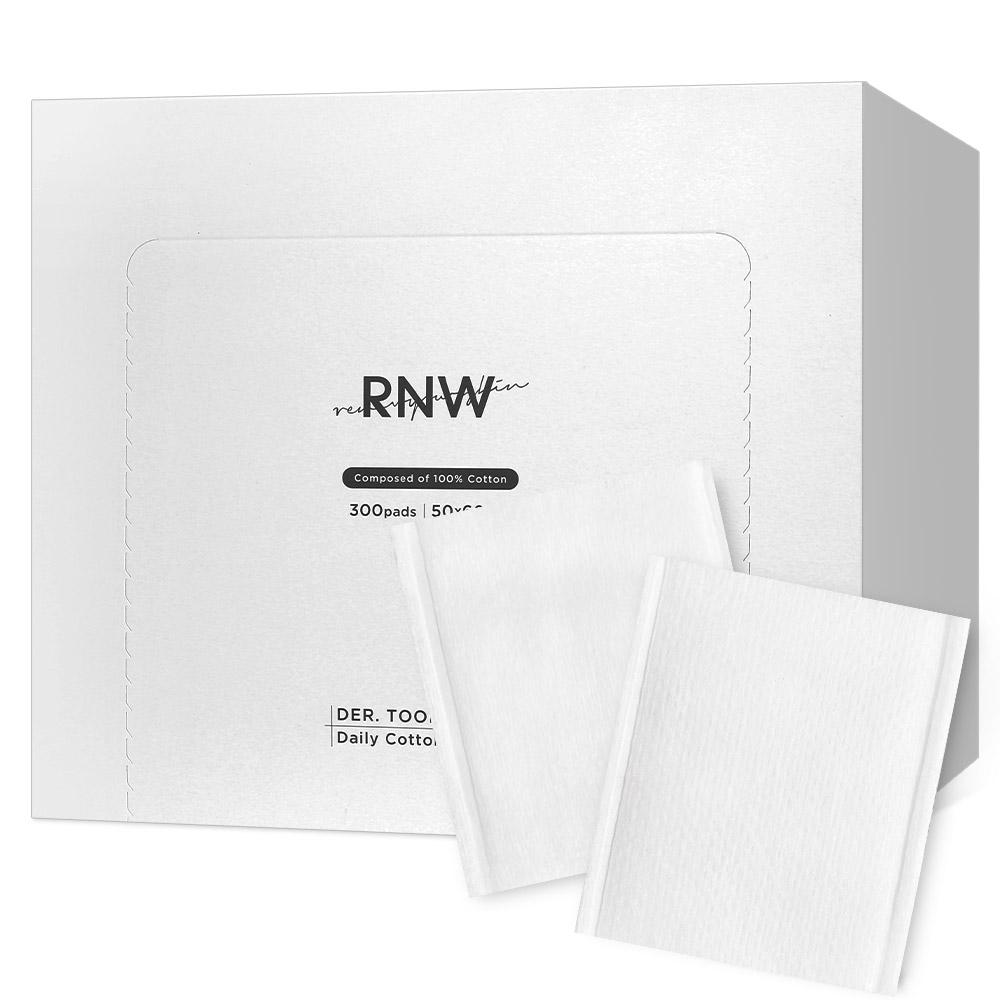 RNW 더 툴즈 데일리 코튼 화장솜, 300매입, 1개