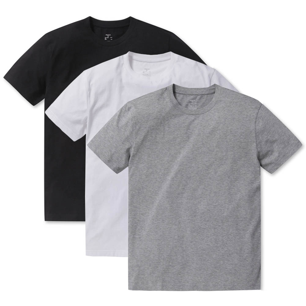 폴햄 코튼 튜블러 반팔 티셔츠 3P 세트