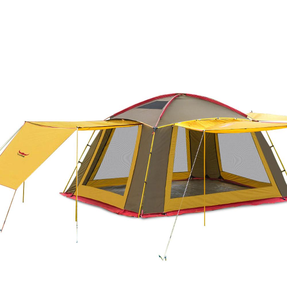 버팔로 풀스크린 하우스 텐트, 혼합 색상, 5인용