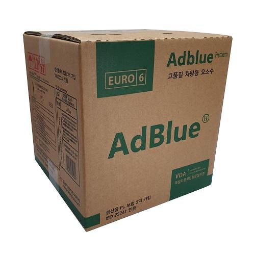 애드블루 차량용 요소수 비닐팩형 디젤 10L, 1개