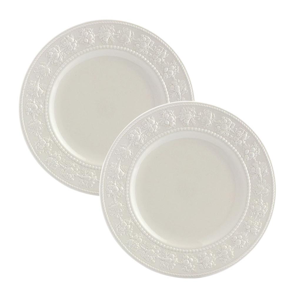 웨지우드 페스티비티 27cm 접시, 2p, 아이보리 접시
