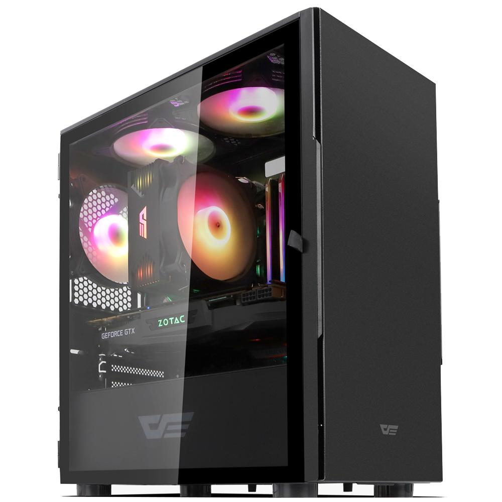 쿠팡 로켓PC Alpha intel No 3. 블랙 조립컴퓨터 본체 (인텔10세대 i7-10700 UHD630 WIN미포함 삼성 16GB SSD 256GB ), ROCKATPC Alpha. INTEL No 3., 기본형