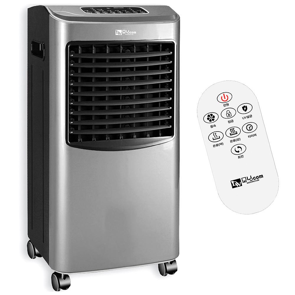 대웅모닝컴 리모컨 히터 전기온풍기, DWH-S0923WS, 혼합 색상