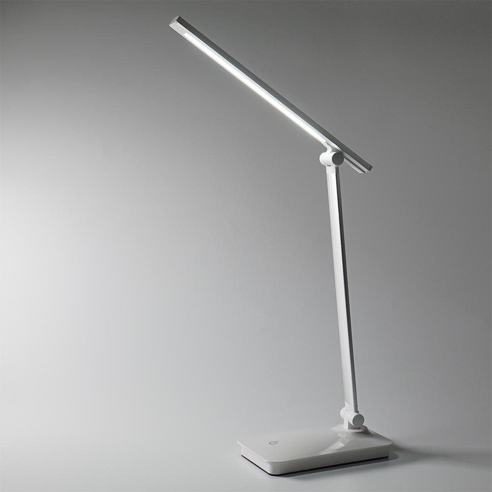 파인블루 2 in 1 LED 충전식 책상용 스탠드 TD-001, 단일 색상