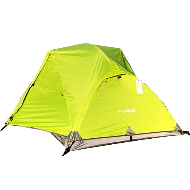 캠프365 초경량 히말라야 ABC 백패킹 텐트, 그린, 2인용