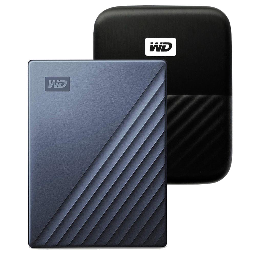 WD My Passport Ultra Type C 휴대용 외장하드 + 파우치, 4TB, 블루