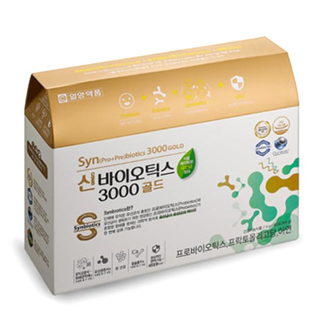 일양약품 신바이오틱스 3000 골드, 4g, 90개