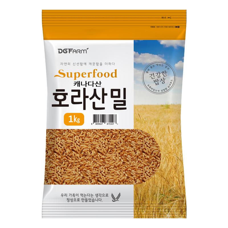 [호라산밀] 대구농산 호라산밀, 1kg, 1개 - 랭킹6위 (9020원)
