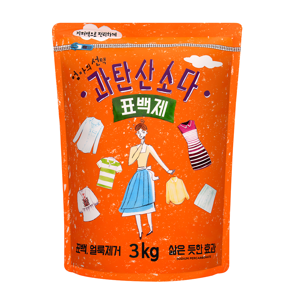 엄마의선택 과탄산소다 표백제, 3kg, 1개
