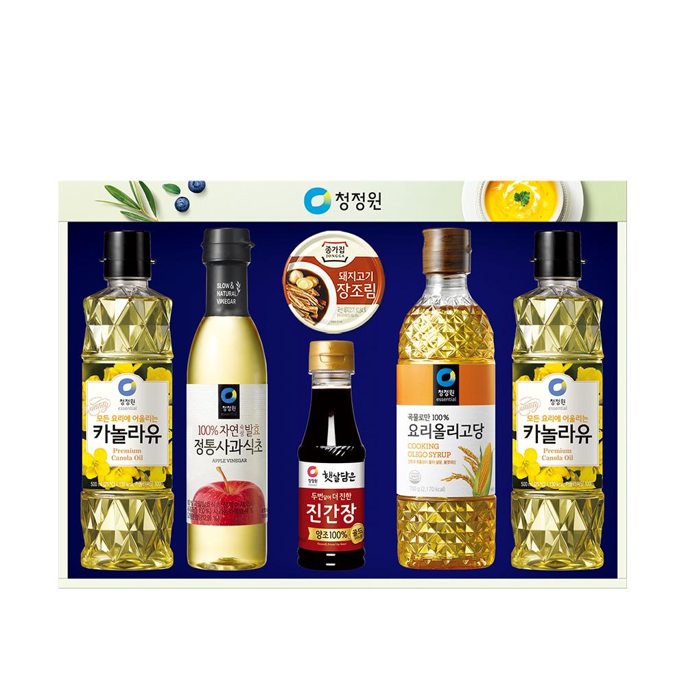 [구정 선물세트] 청정원 스페셜 10호 추석 설날 선물세트, 1세트 - 랭킹5위 (15600원)