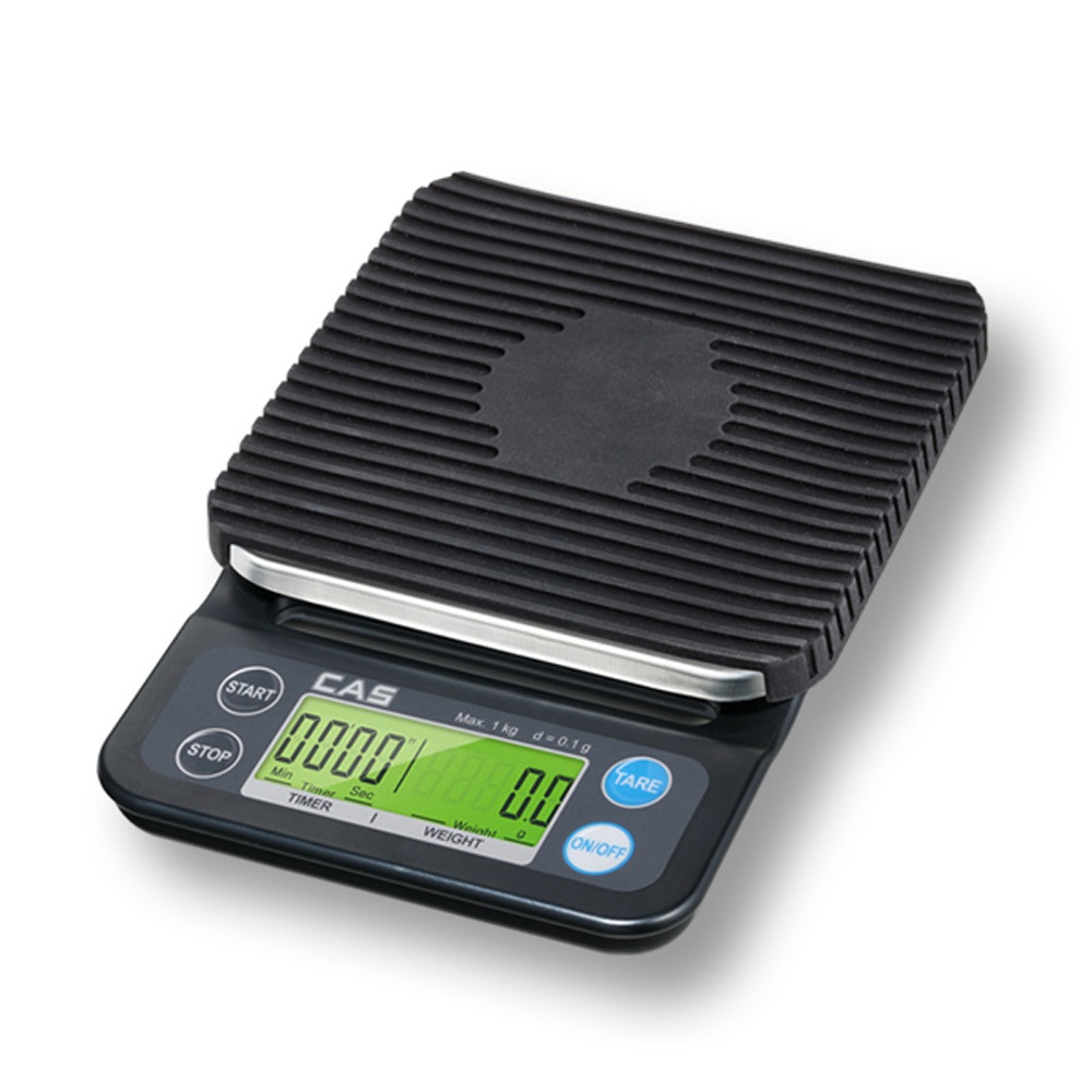 카스 디지털 커피저울 RE-900, 블랙, 1개