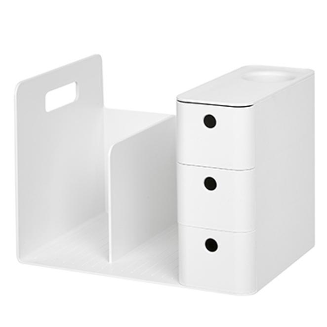 리템 콤보 책꽂이, WHITE (POP 1745433768)