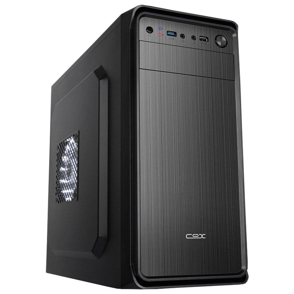 아싸컴 사무용 조립 PC AS-CM25V3W (i3 9100F WIN10 Home DDR4 8GB SSD 240GB GT710) + 게이밍 장패드, 기본형