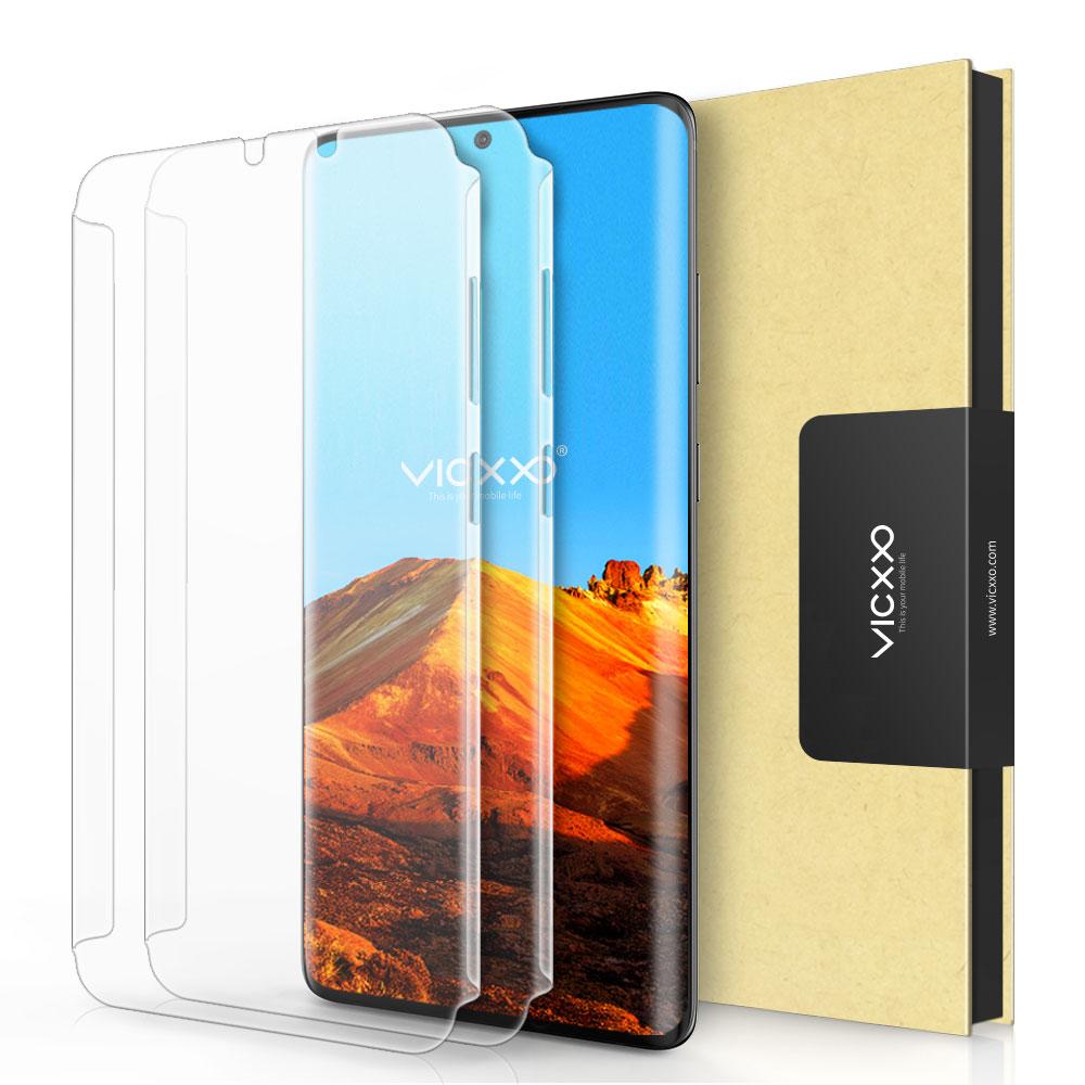 빅쏘 3DSF 풀커버 휴대폰 액정 보호필름, 2매