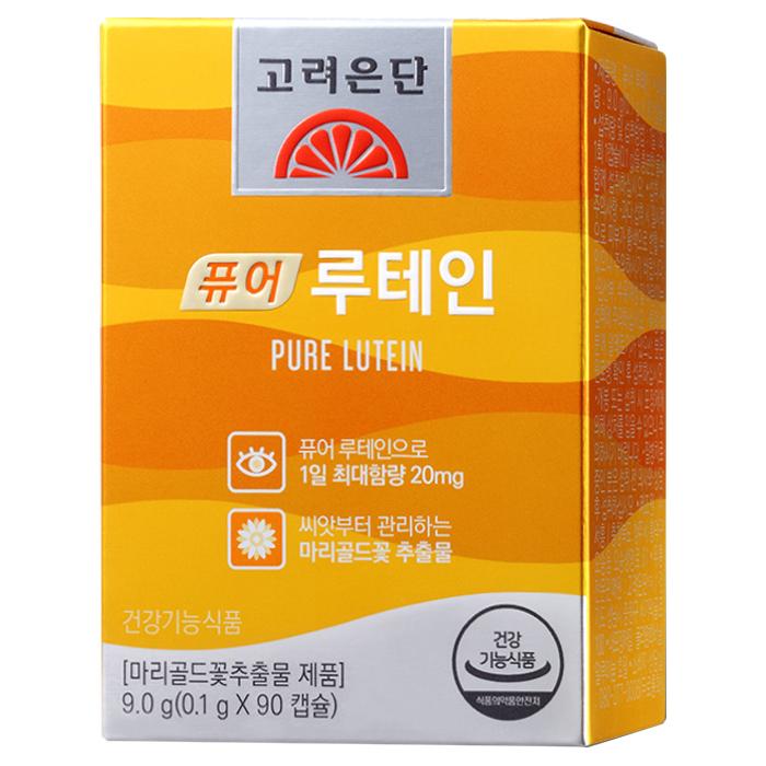 고려은단 퓨어 루테인 90정, 9g, 1개