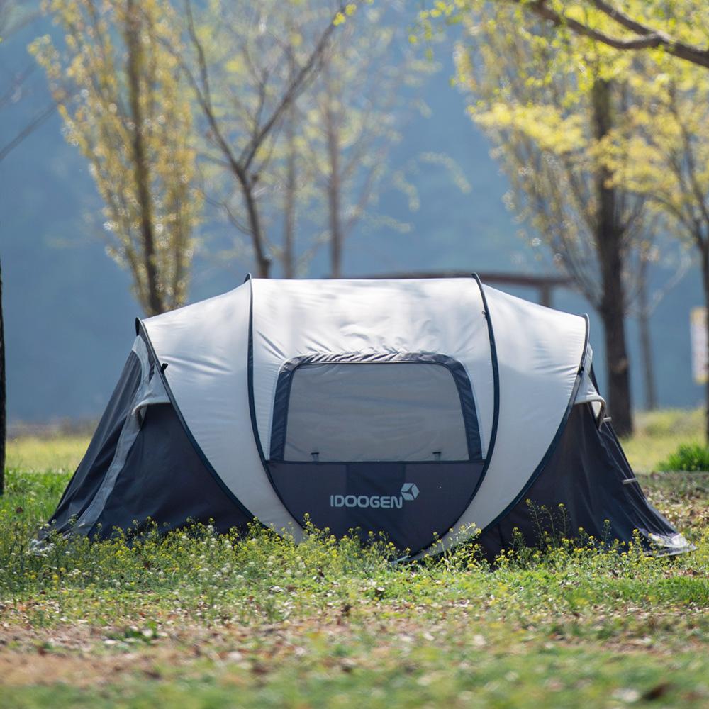 [아이두젠] 패스트캠프 오페라 스위트 원터치 텐트, 라이트그레이, 5인용 - 랭킹26위 (84240원)