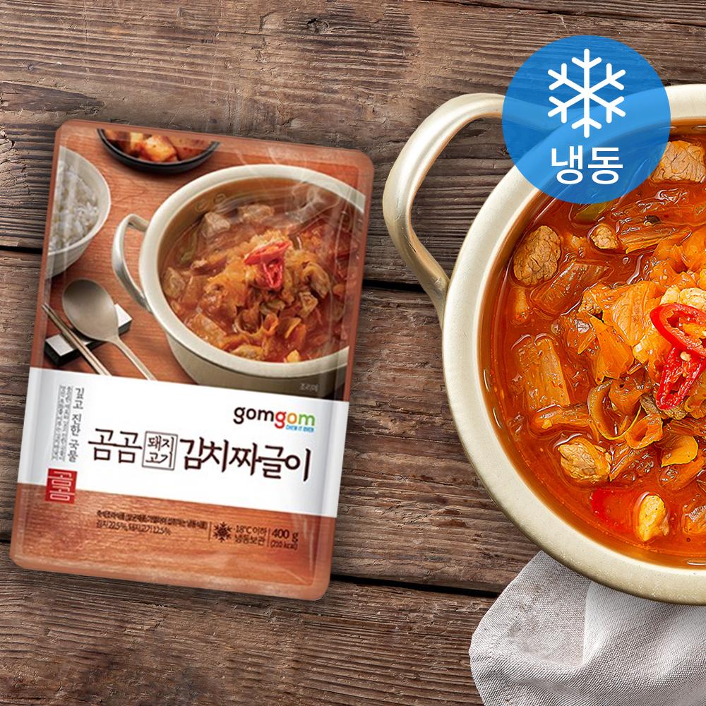 곰곰 돼지고기 듬뿍 김치짜글이 (냉동), 400g, 1개