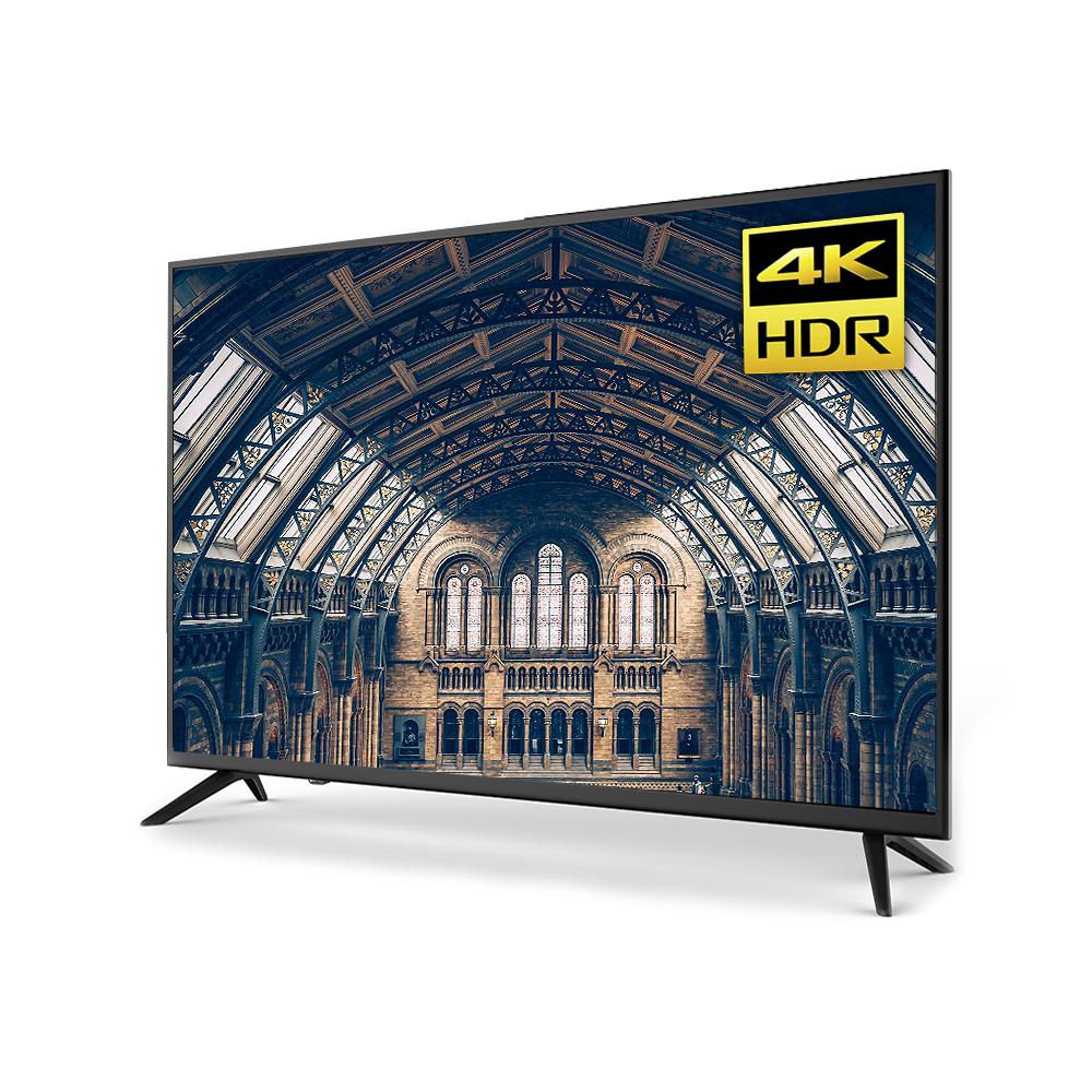 유맥스 UHD HDR 147cm 무결점 패널 TV UHD58L, 스탠드형