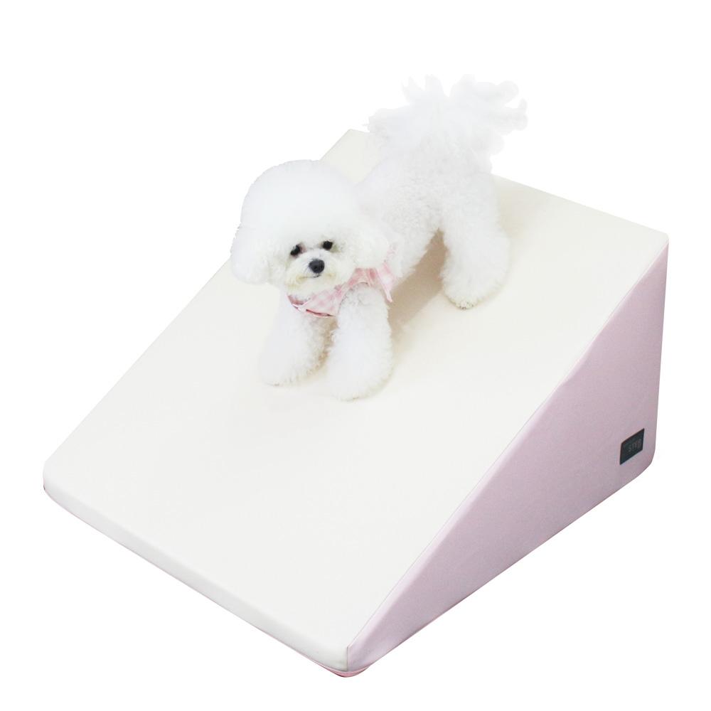 초코펫하우스 반려동물 논슬립 스텝 와이드, 핑크