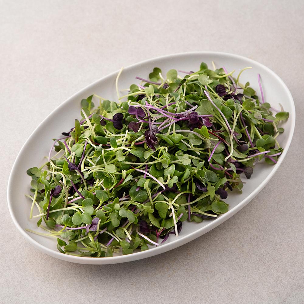 친환경 인증 국내산 어린잎채소, 200g, 1봉