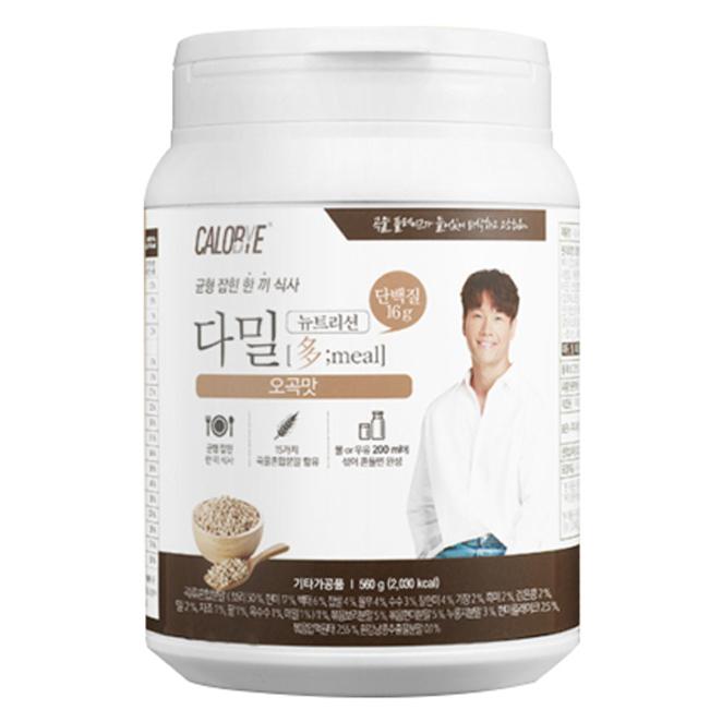 칼로바이 다밀 뉴트리션 단백질쉐이크 오곡맛, 560g, 1개