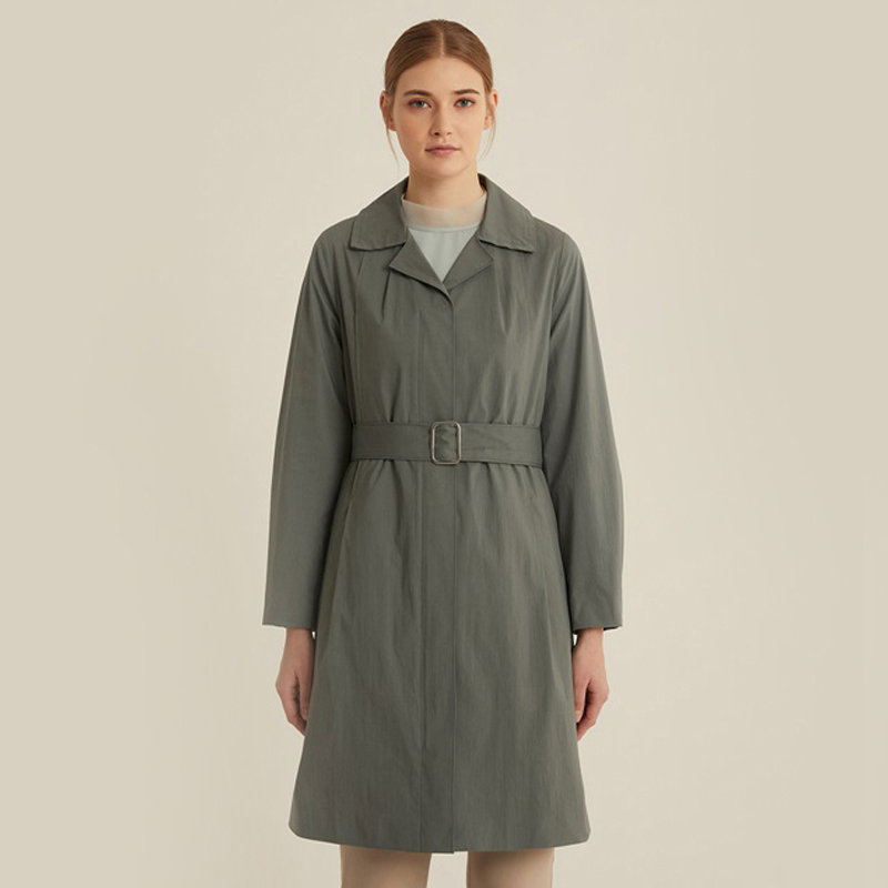 올리비아로렌 원피스형 트렌치 코트 VOCEBXS2241