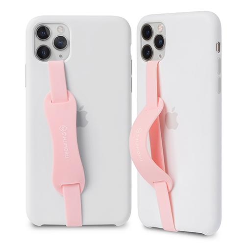 신지모루 스탠드 핸드폰 핑거스트랩, 핑크, 2개