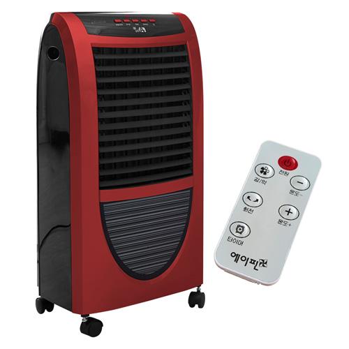 에이핀 리모콘형 PTC 스탠드 온풍기 전기히터, IA-2800R, 혼합 색상