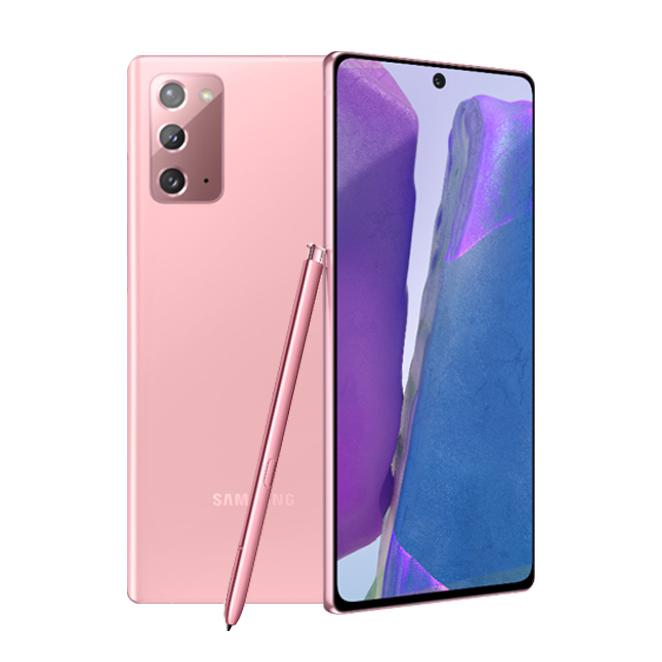 삼성전자 갤럭시 노트20 휴대폰, LG U+, 미스틱 핑크, 256GB