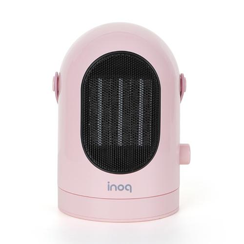 이노크아든 PTC 미니온풍기 전기히터, IA-E2, 핑크