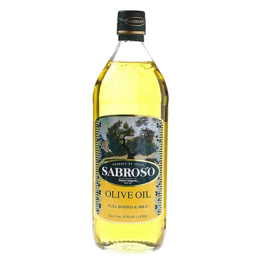 사브로소 퓨어 올리브유, 1L, 1개