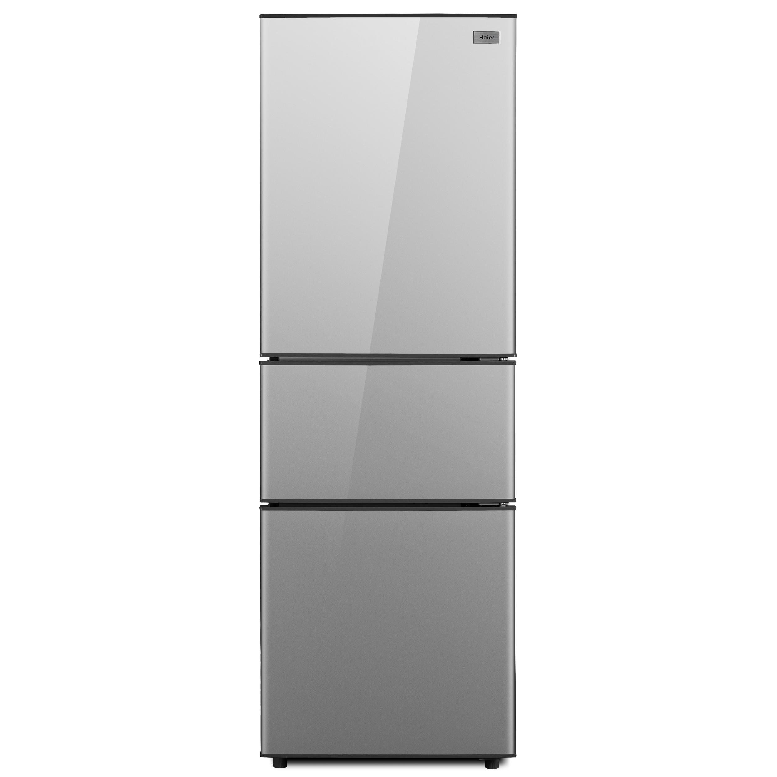 하이얼 미니 3도어 일반소형냉장고 메탈실버 190L 방문설치, HRB212MDS-6-5625455423