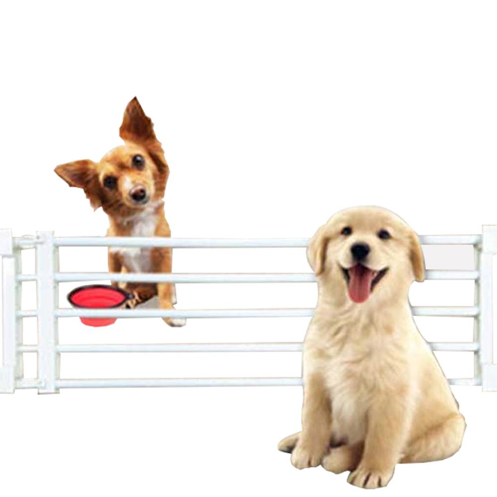 강아지 소형견용 선반 울타리